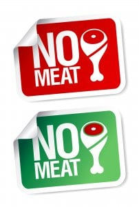 no meat stickers