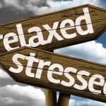 signs showing stress relief